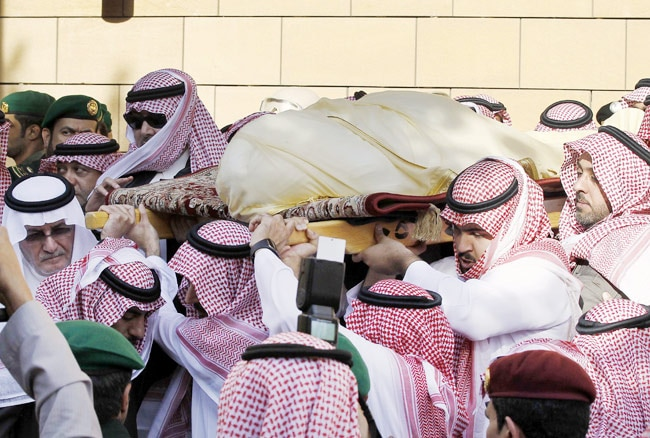 King Abdullah laid to rest