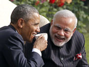 Barack Obama and Narendra Modi