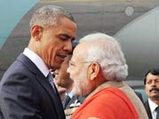 Prime Minister Narendra Modi with Barack Obama