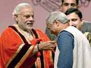 Narendra Modi at inauguration ceremony of the 102nd Indian Science Congress