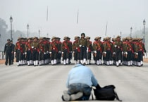 Work and some play: Moments from Republic Day Parade rehearsals