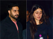 Spotted: Workaholic Abhishek, Kareena and Sidharth Malhotra