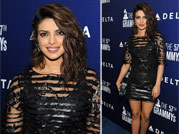 Hotness personified: Priyanka attends Pre-Grammy Awards party
