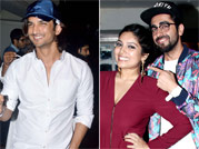 Spotted: Unrecognisable Bhumi Pednekar and Sushant Singh Rajput