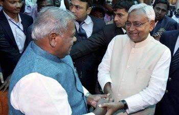 Jitan Ram Manjhi, Nitish Kumar