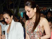 Ladies night for Kareena, Jacqueline, Amrita and Malaika Arora at Zoya Akhtar