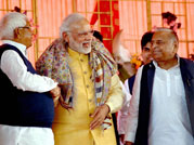 When PM Modi met Mulayam Singh and Lalu Yadav