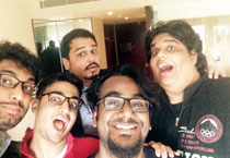Look who are back! The AIB guys at the India Today Conclave 2015