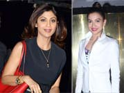 Celeb Spotting: Sofia, Shilpa, Gauahar's busy weekend