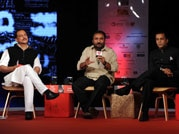 Young minds discussing the problem of unemployment of the educated youth with Rajdeep Sardesai at India Today Conclave 2015.