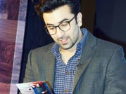 Book and specs: Ranbir Kapoor has turned geeky