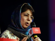 PDP President Mehbooba Mufti at India Today Conclave 2015.