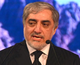 Afghanistan CEO Dr Abdullah Abdullah speaks on the road ahead for his country.