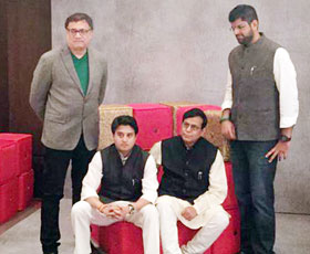 Dissenters session with Derek O'Brien, Jyotiraditya Scindia, Balbir Punj, Dushyant Chautala at India Today Conclave 2015.