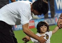 SRK's son AbRam's IPL debut proves lucky for KKR