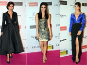Young Fashion Awards 2015: Of purple lips and thigh high slits