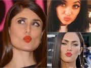 Whose pout shouts: 9 famous celebrity pouts