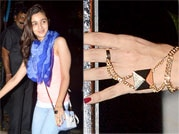 Trend spotting: Bollywood beauties go big on accessories