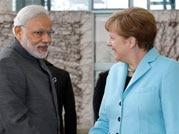 Modi with Merkel