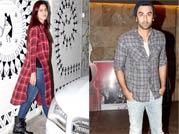 Check-mates: Ranbir Kapoor, Katrina Kaif watch Bombay Velvet together