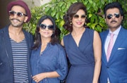 Dil Dhadakne Do: Mehra family in blue