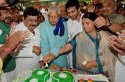 Rashtriya Janata Dal chief Lalu Prasad Yadav turns 68
