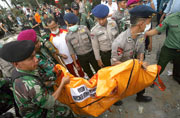 Indonesia military plane crashes just two minutes after take-off