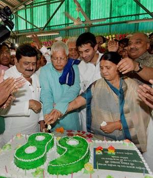 Lalu Prasad Yadav turns 68