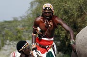 Beyond colour, the Maasai step in for the white rhino