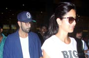 Spotted: Lovebirds Ranbir and Katrina back in town post London vacation