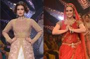 Preity, Kriti, Dia, Aditi light up IIJW 2015 ramp