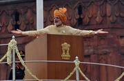 Modi's 2nd Independence Day at Red Fort