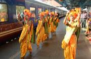 Welcome the luxurious Deccan Odyssey