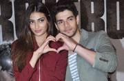 Celeb Spotting: Athiya-Sooraj wear their hearts on their sleeves, Kangana rocks the chic look