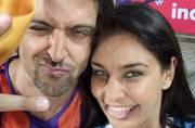 Celeb Spotting: Hrithik-Lisa go goofy at ISL, Bhagyashree and husband at Jazbaa screening