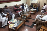 Bihar battle: Foes and friends meet over coffee in Patna airport