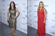 Women in Hollywood Awards: Salma Hayek, Amy Schumer on the red carpet