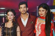 Adaa Khan, Arjun Bijlani and Mouni Roy