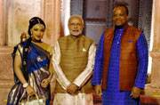 PM Modi hosts dinner for African delegates in New Delhi