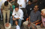 Check out images of Rahul Gandhi in #Dadri