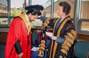 Shah Rukh Khan receives honorary doctorate from Edinburgh University