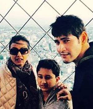 From meeting Brian Lara to reaching the top of the Eiffel tower, Mahesh Babu has not failed to capture the wonderful moments of the trip.