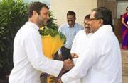 In Pics: Congress vice president Rahul Gandhi meets farmers in Karnataka