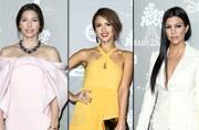 Jessica Alba, Kourtney Kardashian at Baby2Baby Gala