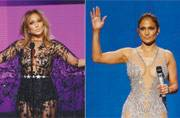 Jennifer Lopez shows her love for naked dresses at AMAs 2015
