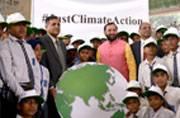 When school children raised their voice against climate change