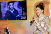 SEE PICS: Ex-flames Deepika Padukone and Ranbir Kapoor celebrate Tamasha music launch
