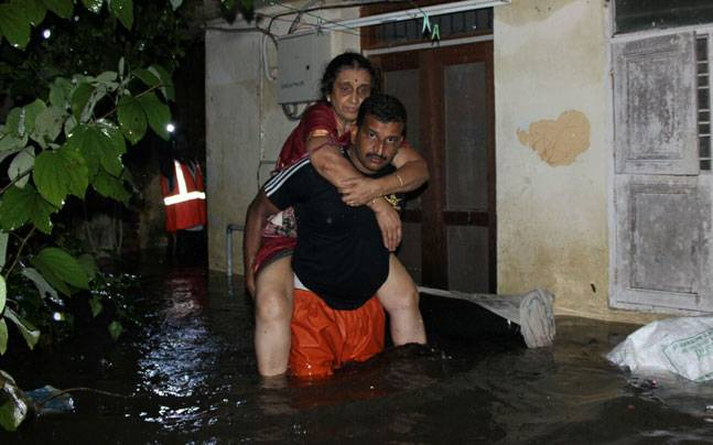 Heavy rains continue to cripple Chennai and parts of Tamil Nadu.