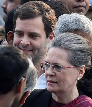 Sonia Gandhi and Rahul Gandhi