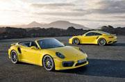 Porsche reveals the new Porsche 911 Turbo and 911 Turbo S